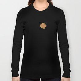 Positively Girly - Karate girl sketch Long Sleeve T-shirt
