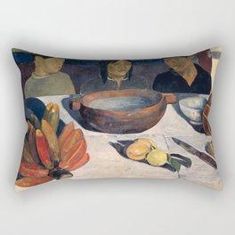 The Meal by Paul Gauguin Rectangular Pillow