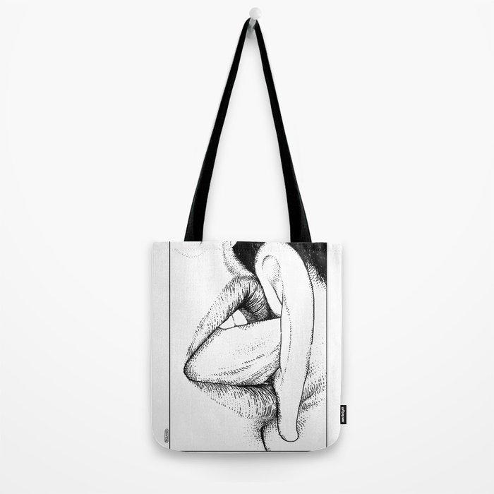 asc 269 - Le murmure d'ange (The whispering angel) Tote Bag