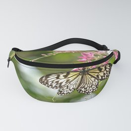 Black Laced Fanny Pack
