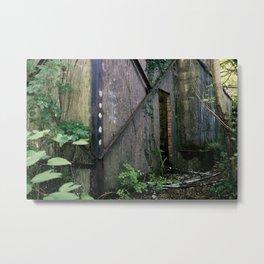 Urbex // AAOR Storage // South Wales Metal Print