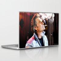 tarantino Laptop & iPad Skins featuring Kurt Russell as Stuntman Mike McKay in the film Death Proof (Quentin Tarantino - 2007) by Gabriel T Toro