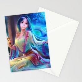 Sleepless Nights-Mulan Stationery Cards