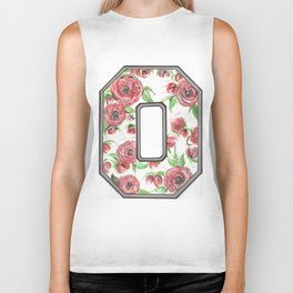 Buckeye O of Roses. Biker Tank