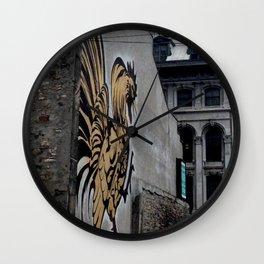 Street Art Old Montreal Wall Clock