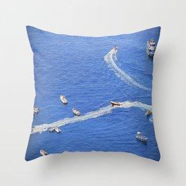 Amalfi coast, Italy 3 Throw Pillow
