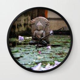 Water Buda. Wall Clock