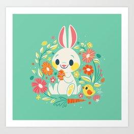 Sweetest Easter Bunny Art Print