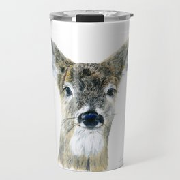 Doe Eyes by Teresa Thompson Travel Mug