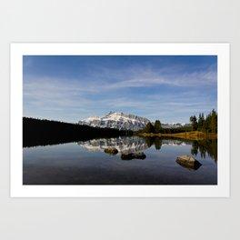 Two Jacks Lake  Art Print