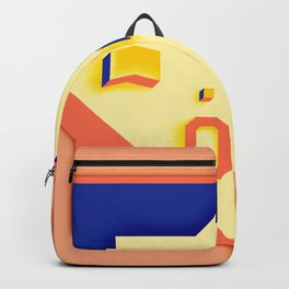 Be Yourself peach Backpack