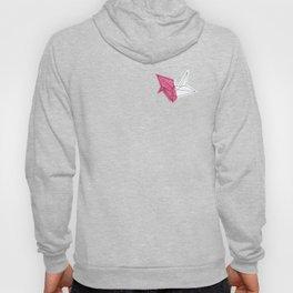 Pink Crane Hoody