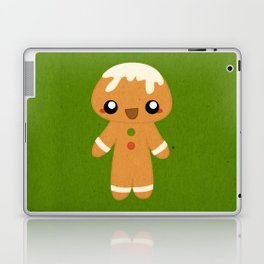 Christmas Card - Gingerbread Kid Laptop & iPad Skin