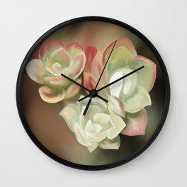 Saddle Mountain Sedums Wall Clock