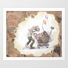 ritch robert Art Print