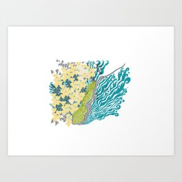Beehive Island Art Print