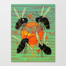 Amber Canvas Print