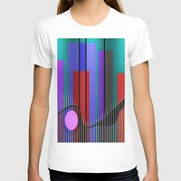 band T-shirts featuring Jazz Band by Kristine Rae Hanning