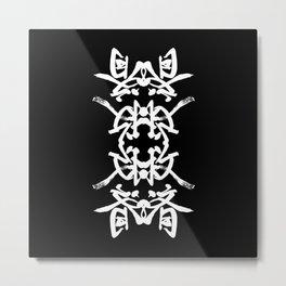 JAPANESE KANJI ART (KYUSAI=REMEDY) by AKIRA Metal Print