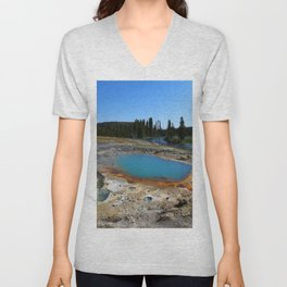 The Colors Of The Thermal Holes Unisex V-Neck