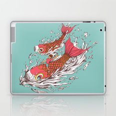 Ride with Koi Laptop & iPad Skin