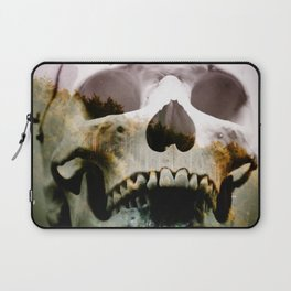 Horror in the woods Laptop Sleeve