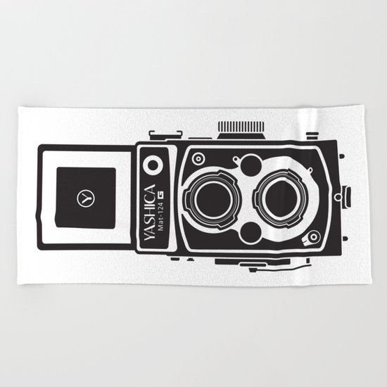 Yashica MAT 124G Beach Towel