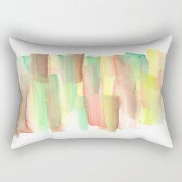 [161228] 21. Abstract Watercolour Color Study |Watercolor Brush Stroke Rectangular Pillow