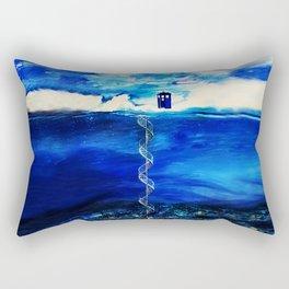 Tardis Cloud Rectangular Pillow