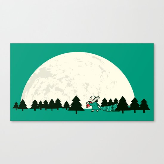 Christmas fell on Wednesday that year Canvas Print