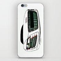 audi iPhone & iPod Skins featuring Zaklassic - Z-06 by Zak Ashton