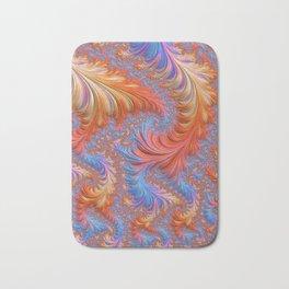 vibrant fractal Bath Mat