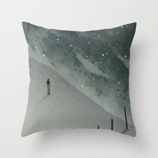 sea of stars Throw Pillow