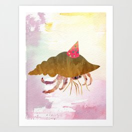 Herman's Got Spirit Art Print
