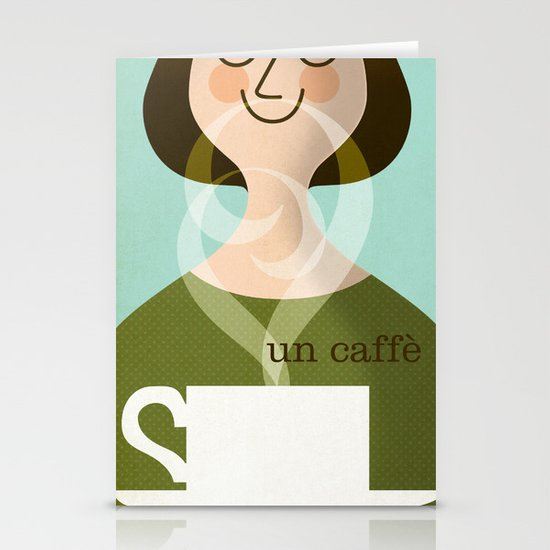 Un Caffe Stationery Cards