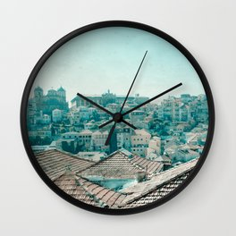 On the roof Wall Clock