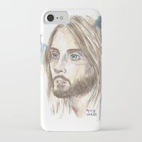 jared leto iPhone & iPod Cases featuring Leto by SirScm