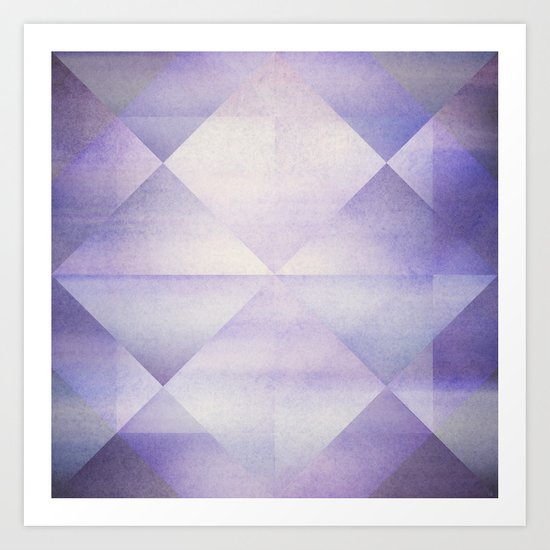 Blue Hour ~ Mosaic Art Print