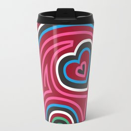 Mola Elephant (Red) Travel Mug