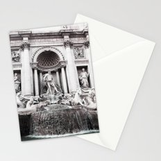 I wished for happiness - trevi fountain Stationery Cards