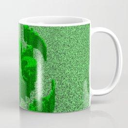 Florentine Green Garden Coffee Mug