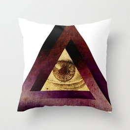 higheye Throw Pillow