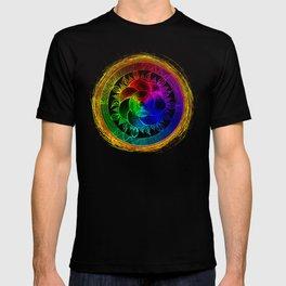 Chakra Blossom Mandala T-shirt
