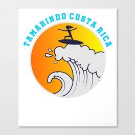 Tamarindo Costa Rica T-shirt Surf Tee Canvas Print