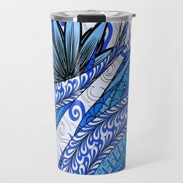 Boho Stylized Rope Pattern Travel Mug