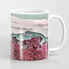 SCENIC VIEW OF TABLE ROCK MOUNTAIN Coffee Mug