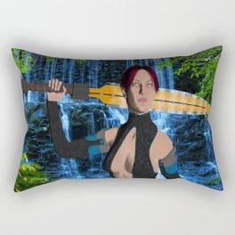 Amazonian Warrior Rectangular Pillow