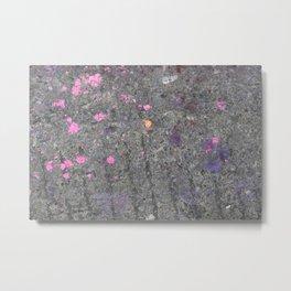 pink slash pavement Bristol graffiti Metal Print