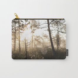 Spiderweb in sunrise Carry-All Pouch