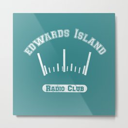 Edwards Island Radio Club Metal Print